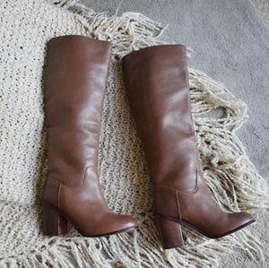 Seychelles Obsidian boots in color whiskey